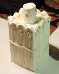 Храм из пластилина