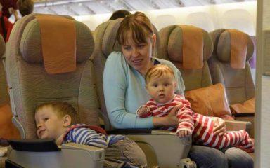 Документы при перелете с ребенком